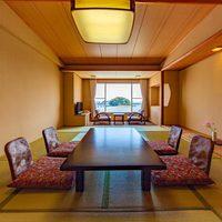 【竹島スタンダード 12畳和室】当館人気のオーシャンビュー