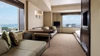 【At Home Room/素泊まり】2段ベッドは誰のもの?52平米の広々コーナールーム<禁煙>