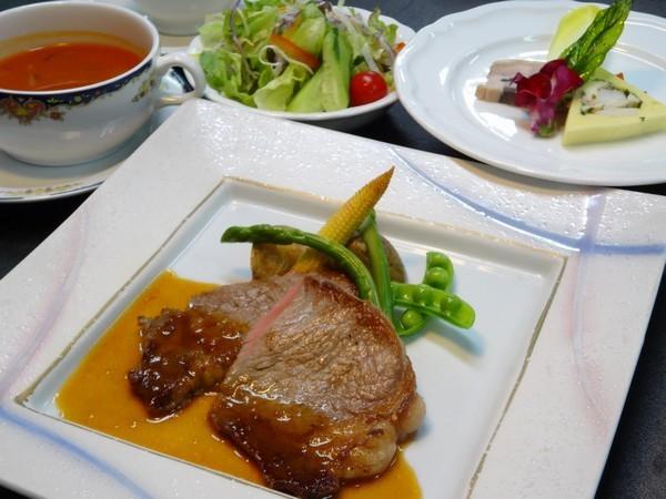【1泊2食付き】近江牛ステーキ又は近江牛シチューの選べるご夕食