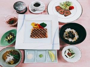 【1泊2食付き】近江牛づくし会席のご夕食