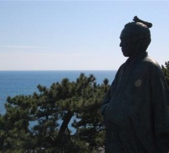桂浜竜馬像