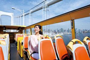 【2階建てオープンバス】TOKYOパノラマドライブ(レインボーブリッジ&銀座)