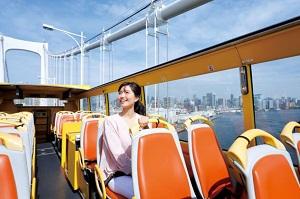 【2階建てオープンバス】TOKYOエアトリップ(2階建てオープンバスで行く東京タワー)