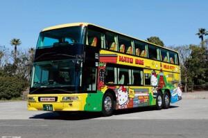 【2階建て ハローキティバス】表参道・渋谷プチッとドライブ