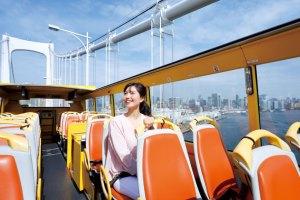 【ポイント10倍!】【2階建てオープンバス】TOKYOパノラマドライブ(レインボーブリッジ&銀座)