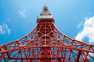 【2階建てバス】東京タワーと国会議事堂