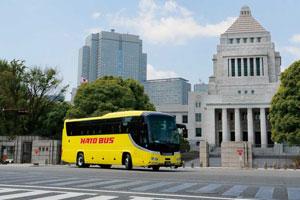 靖國神社と国会議事堂