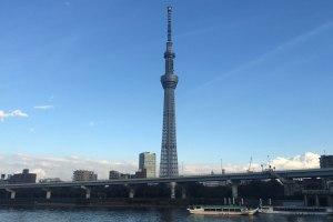【2階建てバス】湾岸ドライブと東京スカイツリー®