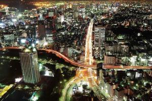 【2階建てバス】東京百景(フォトジェニックTOKYO)~夜発:空から~
