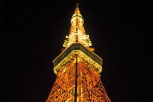 帝国ホテルバイキングと夜景の東京タワー