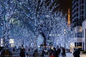六本木・けやき坂イルミネーション&浅草ビューホテル「武藏」のクリスマス