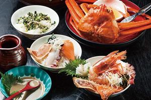 本気丼!海鮮かに味噌醤油ダレで食す三杯丼と越後湯沢温泉露天岩風呂