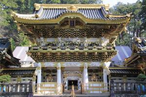 世界遺産日光東照宮 平成の大修理完了の「陽明門」と旬フルーツ狩り