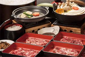 松阪牛の焼き肉食べ放題とみはらしの丘みたまの湯