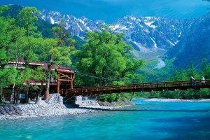 「はとバストイレ付車両レガートで行く!」まさに大自然!上高地・河童橋・大正池