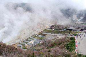箱根ロープウェイ・大涌谷と地ビール6種飲み放題付バイキング