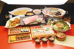 焼津20種寿司食べ放題&収穫体験と爽快!富士山眺望クルーズ