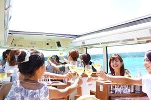 ■レストランバスで巡る東京■【和モダンメニュー ランチコース】【日比谷 出発】