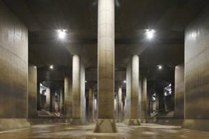世界最大級「首都圏外郭放水路」&JAXA筑波宇宙センター見学バスツアー ~とんかつまい泉のカツサンドの軽食付~