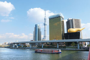 【東京発】下町ここイチ 浅草散策と隅田川遊覧船
