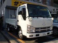 サンコーレンタカーの2トン平トラック