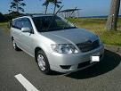 伊豆大島レンタカーのカローラフィールダー