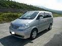 伊豆大島レンタカーのセレナ