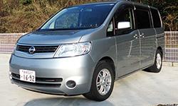隠岐レンタ・リースのWクラス(ワゴン車)