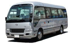 八番レンタカーのマイクロバス/29人乗クラス