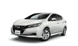 日産レンタカーのE4クラス(電気自動車)