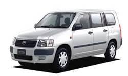 ホンダレンタカーのサクシードV(4名乗り)