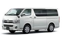 ホンダレンタカーのハイエースV(9名乗り)商用車