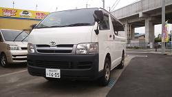カースタレンタカー(新青森)のハイエースバン 【4WD】