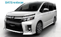 DATEレンタカーの高年式車(VOXY・SERENA)