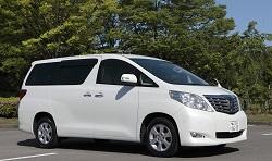 KUROBUTAレンタカーの★車種確約★ アルファード 8人乗りミニバン 広さ・快適性能満足の1台です!
