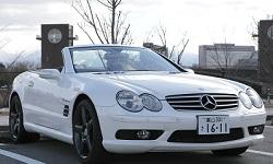 KUROBUTAレンタカーの★車種確約★ BENZ SL55 AMG 500馬力 オープンカーでドライブ!
