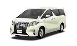 シナジーレンタカーの【アルファードHV 2400㏄指定】モニター、DVD装備 ハイグレード仕様!