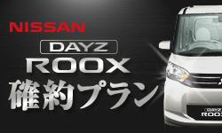 アクアレンタカーの日産・デイズルークス確約(軽自動車・4人乗り)RK:DR