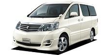 ハコレンタカーのTOYOTAアルファード指定クラス(10系W1)4ヶ国ナビ搭載