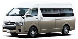ハコレンタカーの【10名乗り】TOYOTAハイエース指定クラス 4ヶ国ナビ搭載