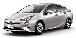 リテノアレンタカーの新車プリウス(Bluetooth付)