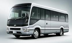ABCレンタカーショップのマイクロバス(ナビ標準装備)28人乗り