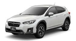 ワールドネットレンタカーのXV確約/登録1年以内、4WD、バックモニター付き