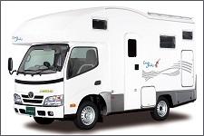 エルモンテRVジャパンのキャンピングカー