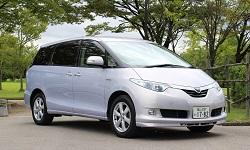 KUROBUTAレンタカーの★車種確約★ エスティマ7人乗り クラス最安値で提供します!