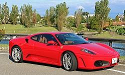 KUROBUTAレンタカーの★車種確約★ フェラーリF430 ディーラー認定車 皆様の夢を叶えます!