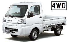 入江レンタカーの【軽トラック・AT車・4WD】ナビ標準装備☆送迎付き