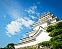 会津若松市のシンボル鶴ヶ城