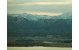 雄大な白山