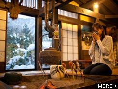 ぬくもりに満ちた 昔ばなしの里 五平餅村